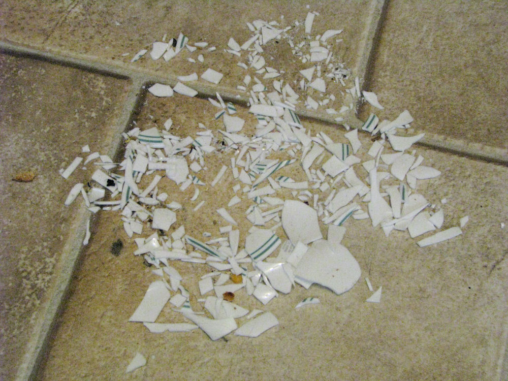 Corelle Bowl Shattered 171 A Christian Viewpoint